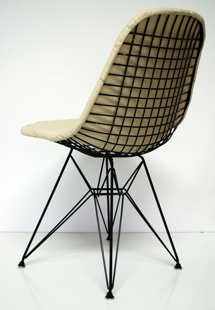 BEFORE AFTER Eames Wire Chair Restoration Modern Conscience Blog