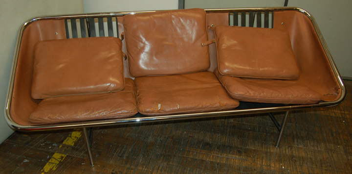 BEFORE / AFTER: George Nelson Sling Sofa