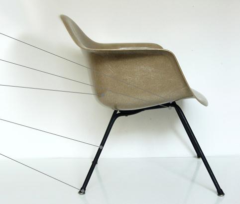 Herman Miller Eames Vintage Screws for Fiberglass Chairs Fine Thread